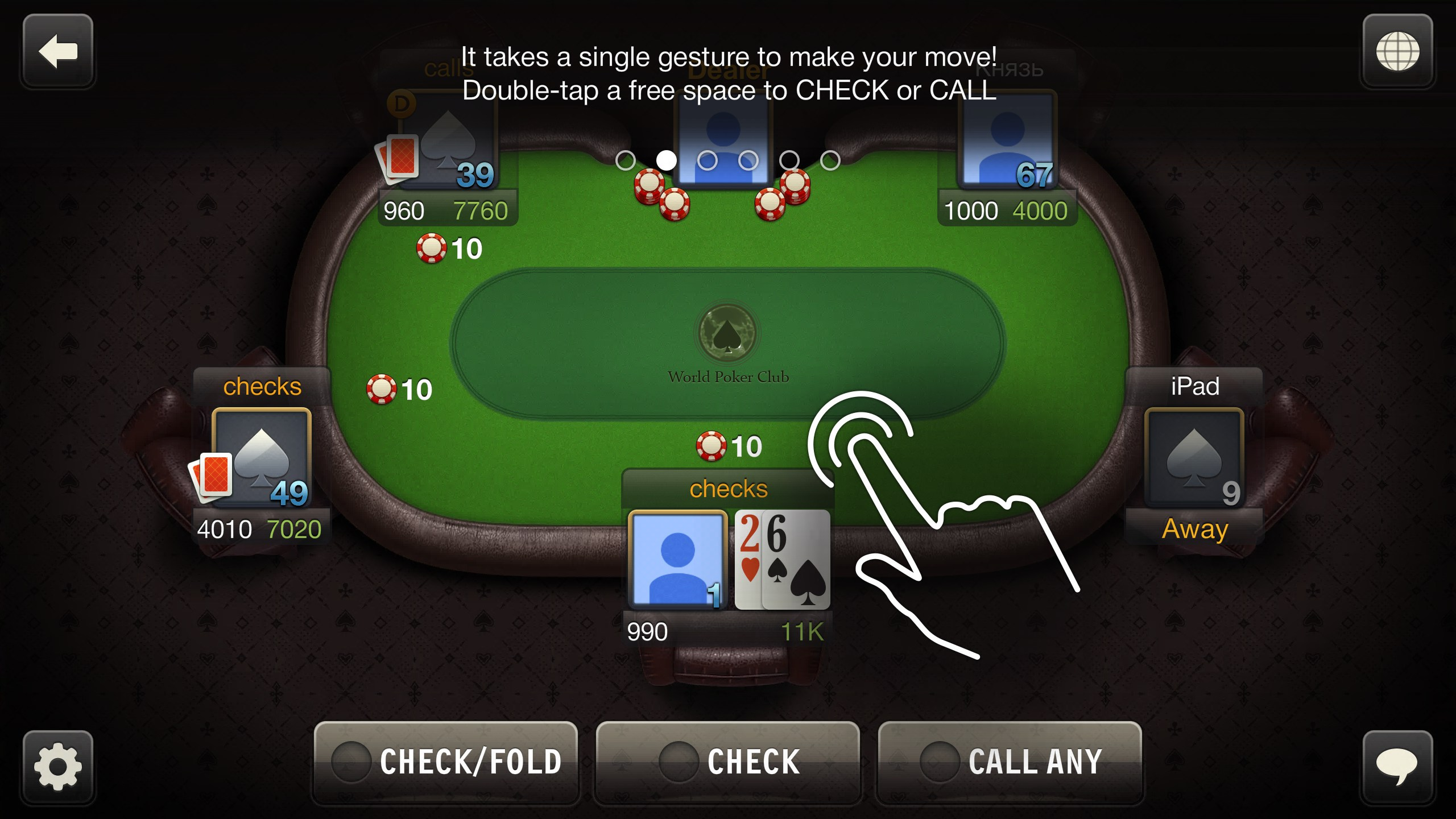 Winning hands in poker ranked