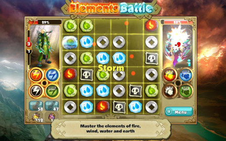Elements Battle for Samsung GT-S5360 Galaxy Y