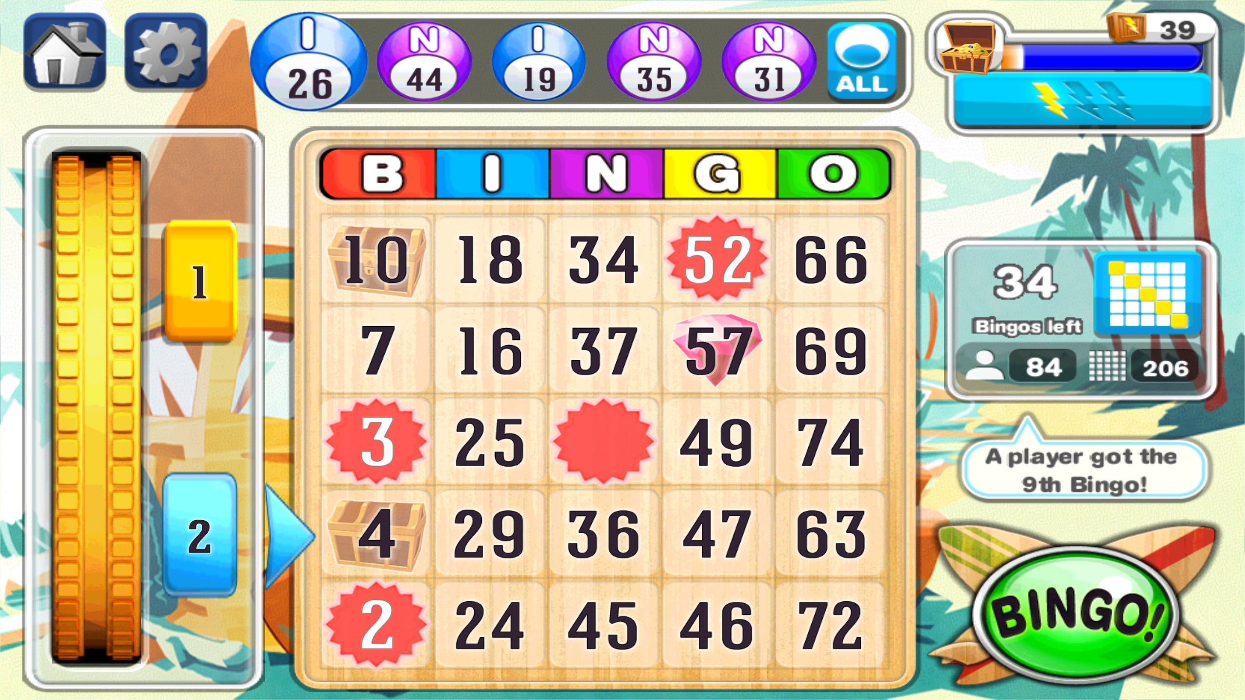 All Bingo Games Online