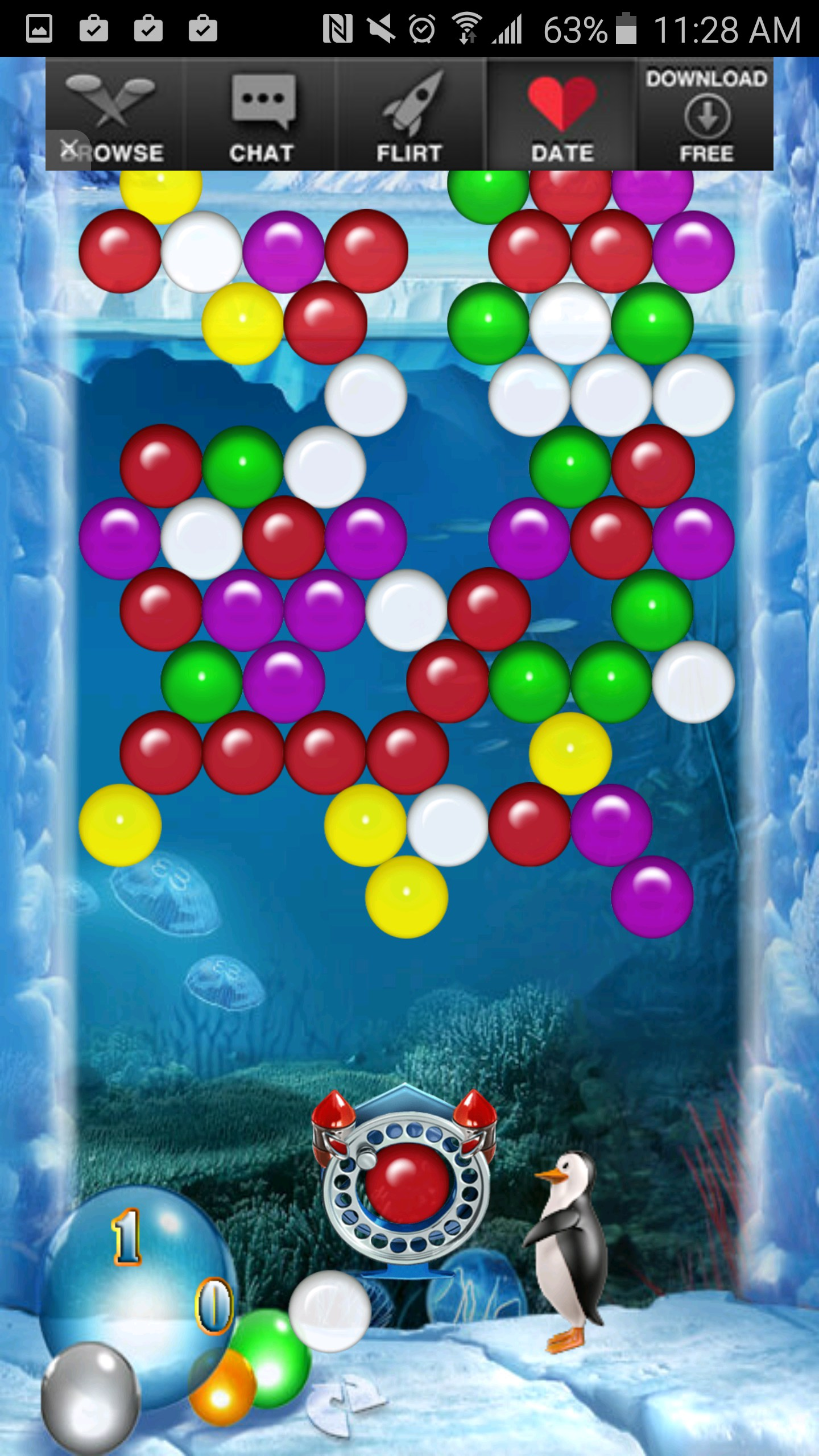 bubble shooter not