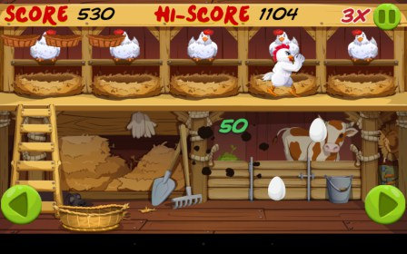 Angry Chicken: Egg Madness!