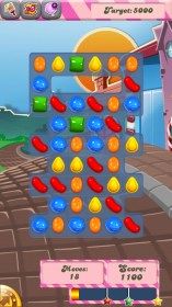 Candy Crush Saga for LG Optimus F7