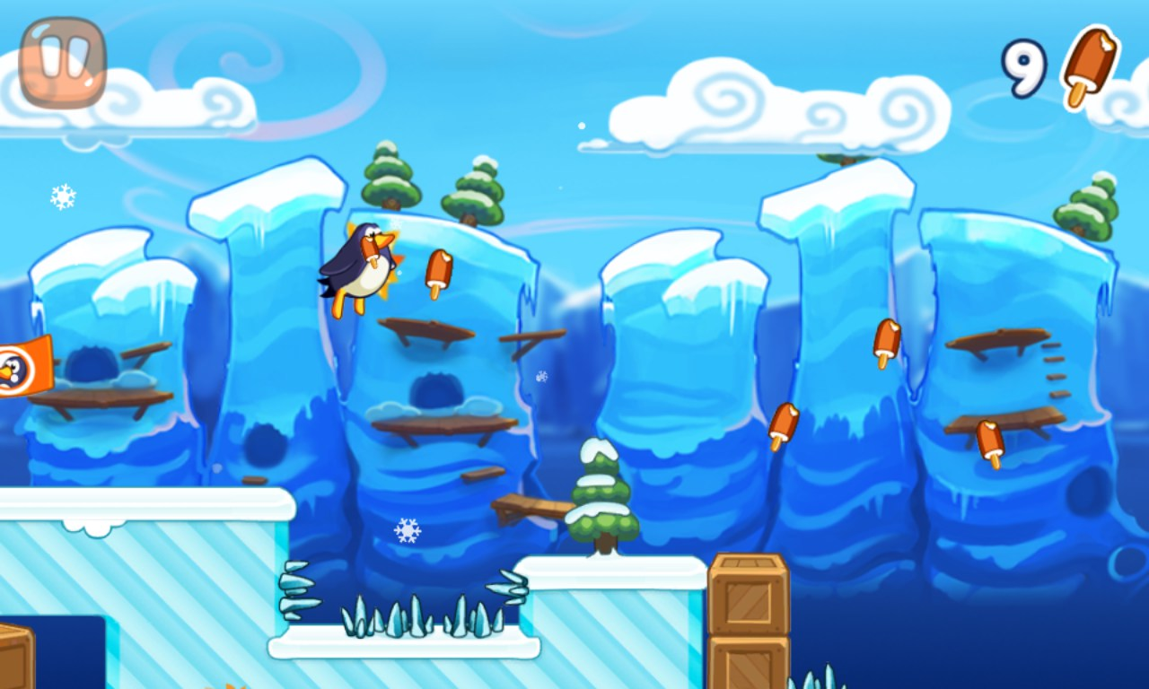Penguin Adventure Games For Windows Phone 2018 Free