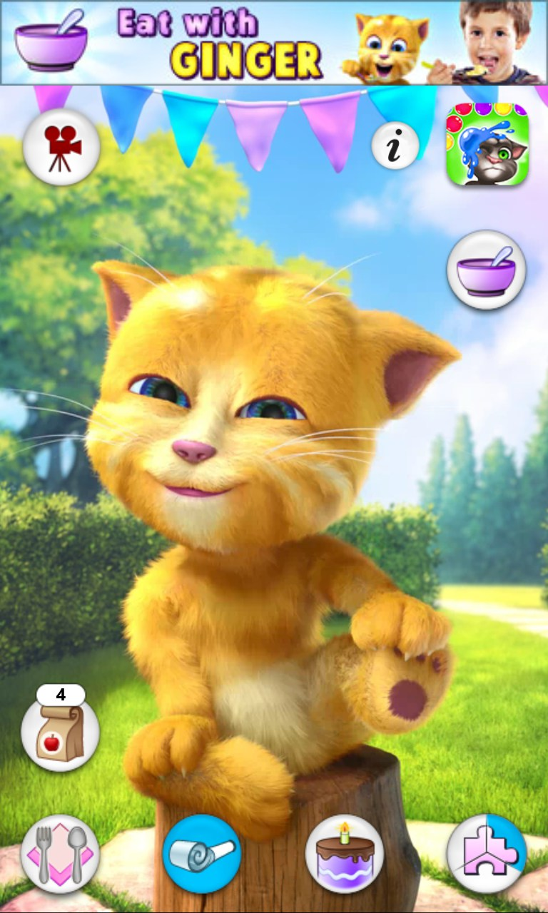 Talking Ginger 2 Games For Windows Phone 2018 Free
