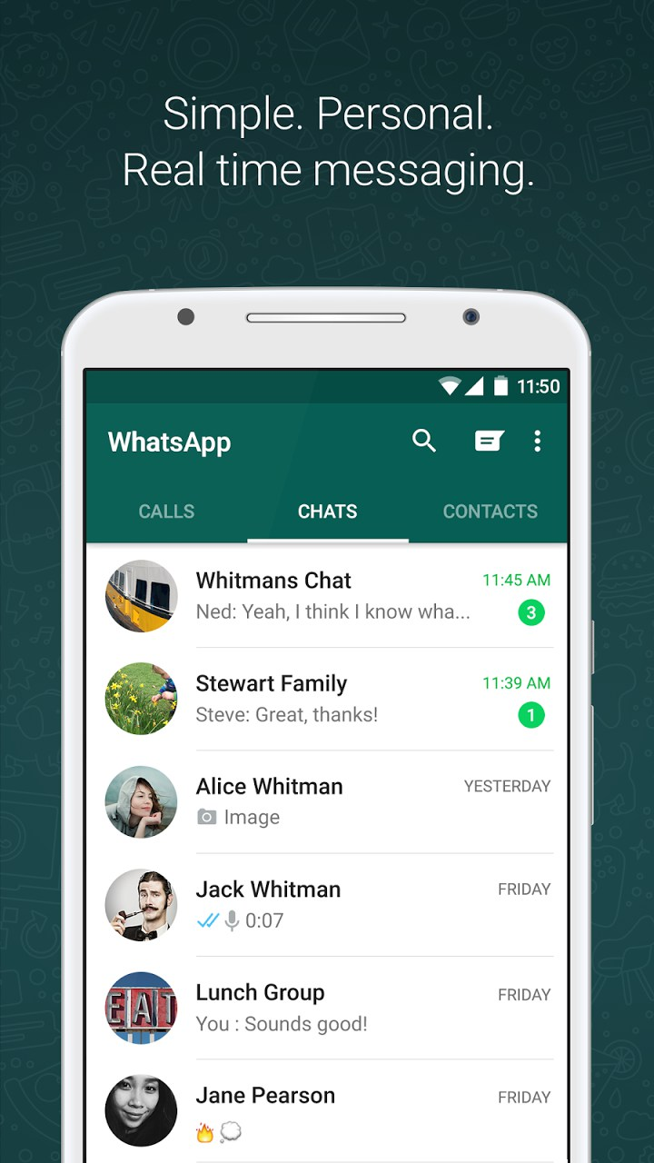 WhatsApp Messenger – Soft for Android 2018 – Free download